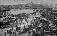 istanbul-gravure-pont-galata-vers-1900