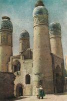 Bukhara-Khalif-Niyazkul-madrasa-19e