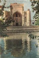 Bukhara-Nadir-Divan-begh-mosquee--Labi-Hauz-reservoir