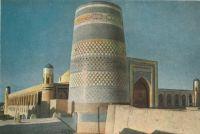 Khiva-Kalta-Minor-minaret-Muhammad-Amin-Khan-madrasa-1852