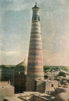 Khiva-Khoja-Islam-minaret-1910