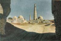 Khiva-Khoja-Islam-minaret-Pahlavan-Mahmud-mausolee-1835