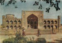 Samarkand-Registan-Tilla-Karl-Madrasa-17e