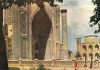 Samarkand-Registan-Ulugbeg-madrasa-1420