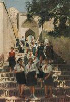 Samarkand-shah-zindeh-escalier