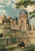 Samarkand-shah-zindeh-groupe-de-mausolees